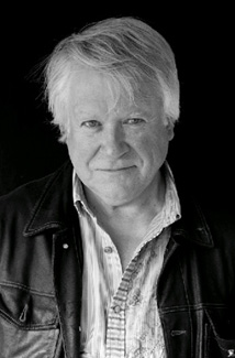 Richard Mabey black and white portrait
